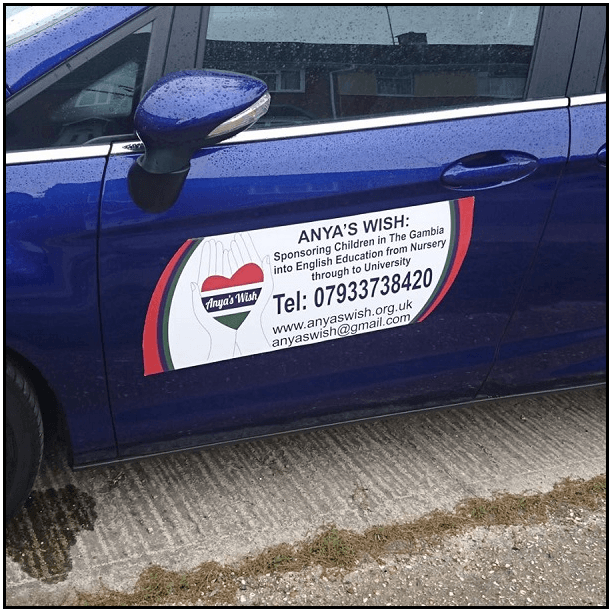 Custom SizeShape Vehicle Magnets From Studio Marketing More Ltd - Custom car magnets uk