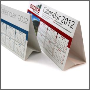Folded Calendars
