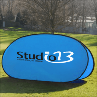 pop-up banner frame