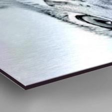 Photo on Aluminium