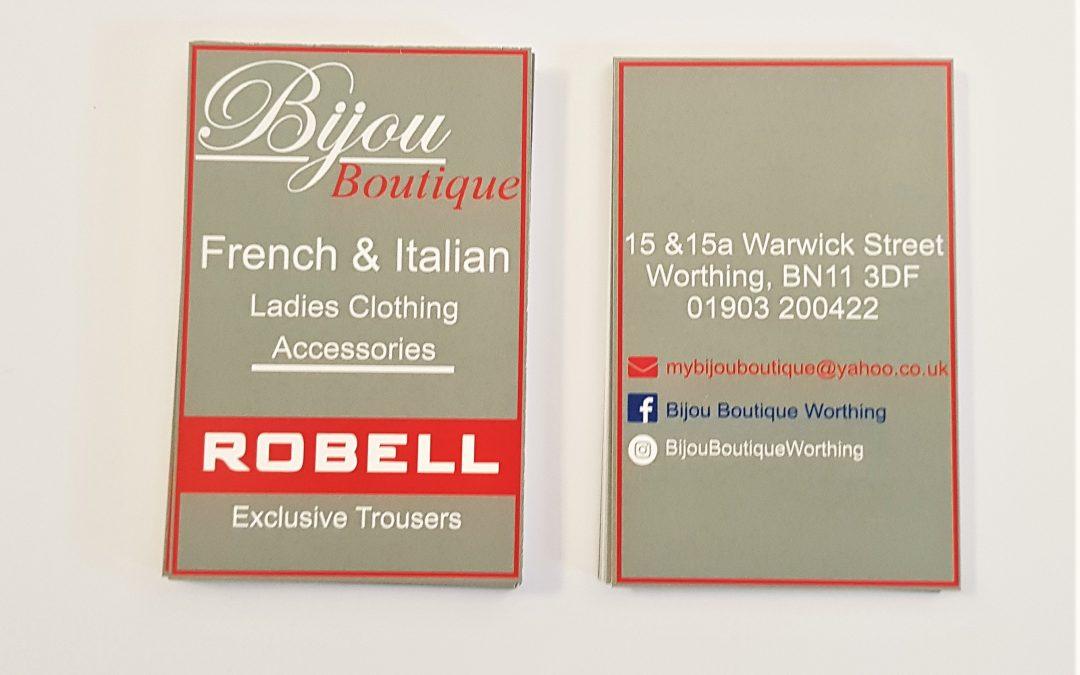 Bijou Boutique Business Cards